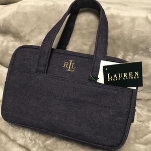 NEW~Ralph Lauren Denim Handbag